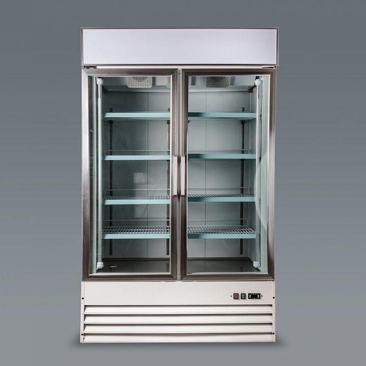 congelateur vitre