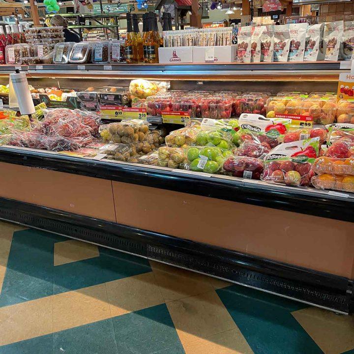 Réfrigérateur commercial fruits et légumes-Commercial fruit and vegetables refregirator